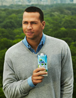 ARod say yes to all-natural hydration